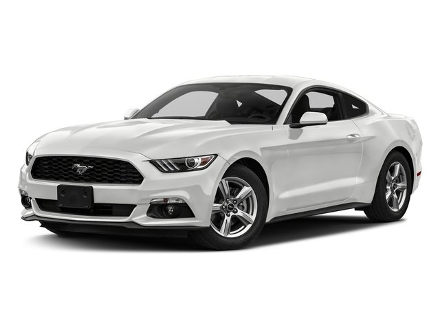 Oxford White 2017 Ford Mustang Pictures Mustang Coupe 2D EcoBoost I4 Turbo photos front view