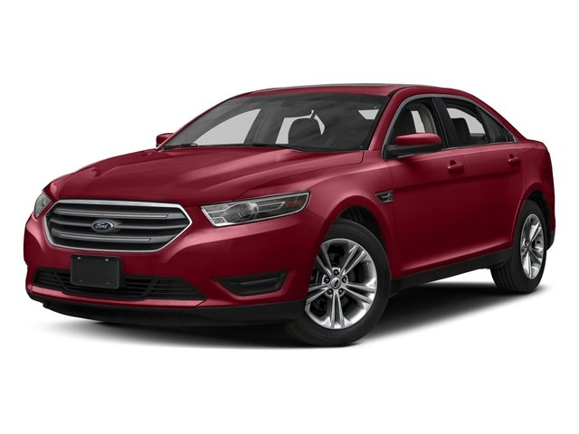 Ruby Red Metallic Tinted Clearcoat 2017 Ford Taurus Pictures Taurus Sedan 4D Limited AWD V6 photos front view