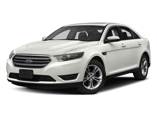 White Platinum Metallic Tri-Coat 2017 Ford Taurus Pictures Taurus Sedan 4D Limited AWD V6 photos front view