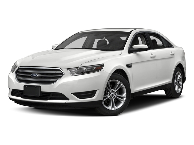 Oxford White 2017 Ford Taurus Pictures Taurus Sedan 4D SEL EcoBoost I4 Turbo photos front view