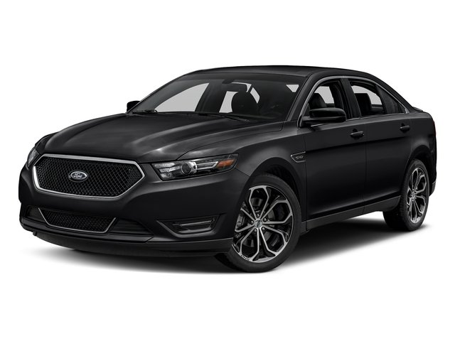 Shadow Black 2017 Ford Taurus Pictures Taurus Sedan 4D SHO AWD V6 Turbo photos front view