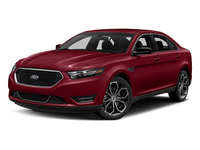 Ruby Red Metallic Tinted Clearcoat 2017 Ford Taurus Pictures Taurus Sedan 4D SHO AWD V6 Turbo photos front view