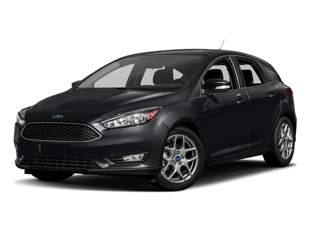 Shadow Black 2017 Ford Focus Pictures Focus Hatchback 5D SE I4 photos front view