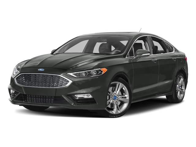 Magnetic 2017 Ford Fusion Pictures Fusion Sedan 4D Sport EcoBoost V4 Turbo photos front view