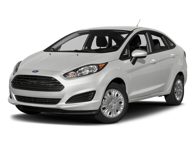 Oxford White 2017 Ford Fiesta Pictures Fiesta Sedan 4D S I4 photos front view