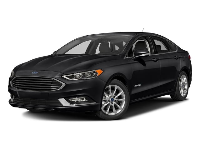 Shadow Black 2017 Ford Fusion Pictures Fusion Sedan 4D SE I4 Hybrid photos front view