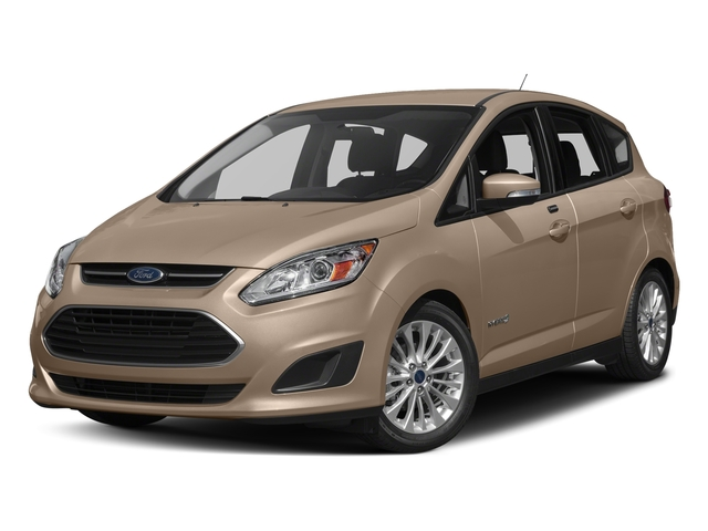 White Gold Metallic 2017 Ford C-Max Hybrid Pictures C-Max Hybrid Hatchback 5D SE I4 Hybrid photos front view