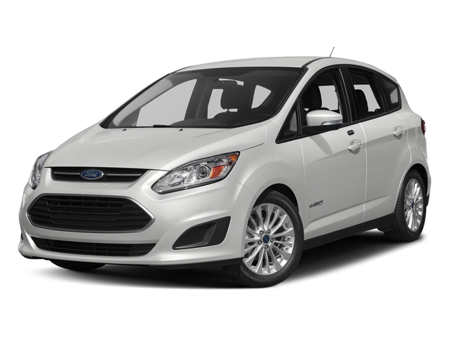Oxford White 2017 Ford C-Max Hybrid Pictures C-Max Hybrid Hatchback 5D SE I4 Hybrid photos front view