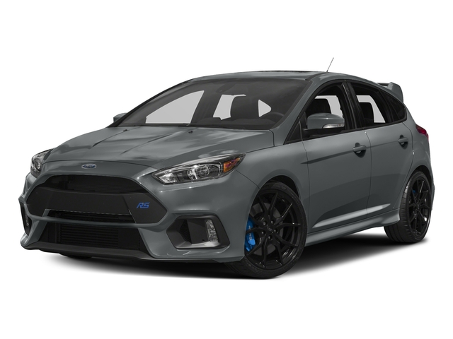 Stealth Gray 2017 Ford Focus Pictures Focus Hatchback 5D RS AWD I4 Turbo photos front view