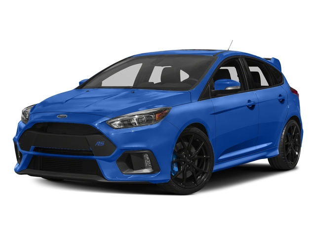 Nitrous Blue Quad-Coat 2017 Ford Focus Pictures Focus Hatchback 5D RS AWD I4 Turbo photos front view