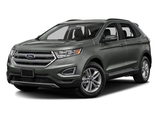 Magnetic Metallic 2017 Ford Edge Pictures Edge Utility 4D SEL 2WD V6 photos front view
