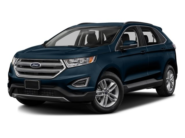 Blue Jeans Metallic 2017 Ford Edge Pictures Edge Utility 4D SEL 2WD V6 photos front view