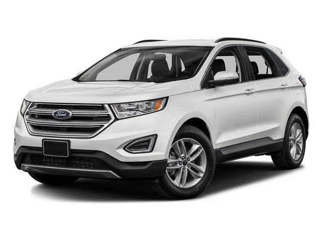Oxford White 2017 Ford Edge Pictures Edge Utility 4D SEL 2WD V6 photos front view