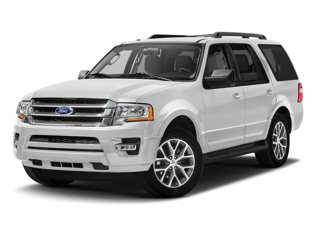 Oxford White 2017 Ford Expedition Pictures Expedition Utility 4D XLT 4WD V6 Turbo photos front view