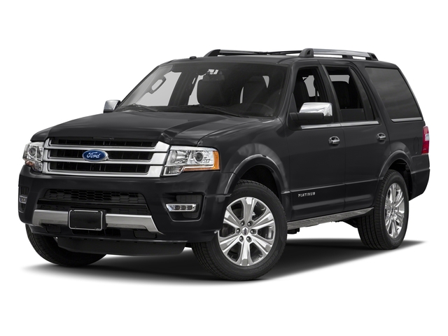 Shadow Black 2017 Ford Expedition Pictures Expedition Utility 4D Platinum 2WD V6 Turbo photos front view