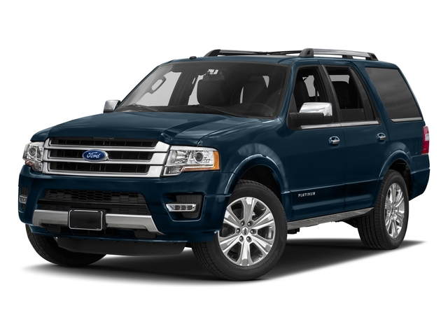 Blue Jeans 2017 Ford Expedition Pictures Expedition Utility 4D Platinum 2WD V6 Turbo photos front view