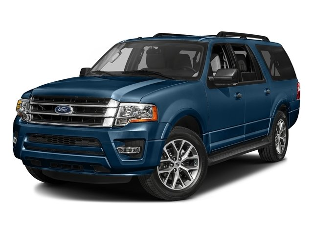 Blue Jeans 2017 Ford Expedition EL Pictures Expedition EL Utility 4D XLT 4WD V6 Turbo photos front view