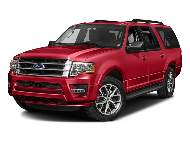 Race Red 2017 Ford Expedition EL Pictures Expedition EL Utility 4D XL 4WD V6 Turbo photos front view