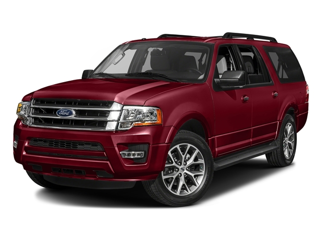 Ruby Red Metallic Tinted Clearcoat 2017 Ford Expedition EL Pictures Expedition EL Utility 4D XLT 4WD V6 Turbo photos front view