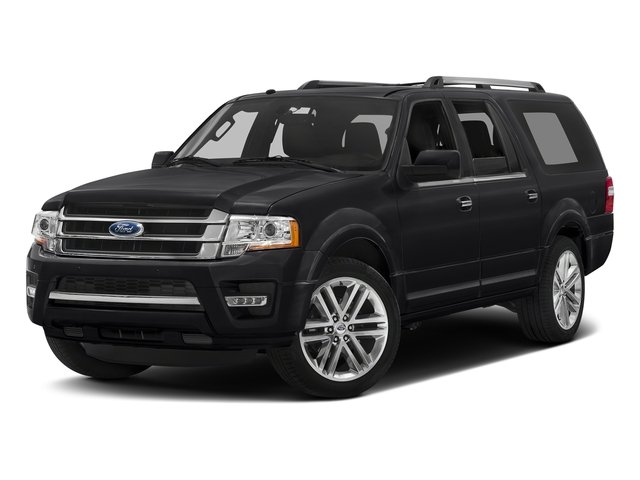 Shadow Black 2017 Ford Expedition EL Pictures Expedition EL Utility 4D Limited 4WD V6 Turbo photos front view