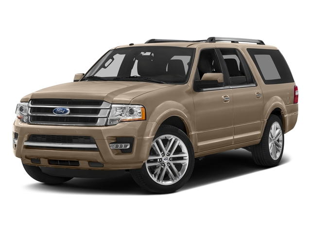 White Gold 2017 Ford Expedition EL Pictures Expedition EL Utility 4D Limited 4WD V6 Turbo photos front view