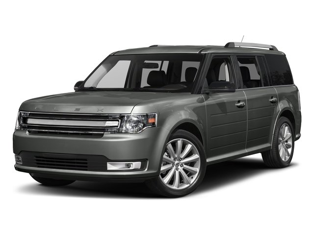 Magnetic Metallic 2017 Ford Flex Pictures Flex Wagon 4D Limited AWD photos front view