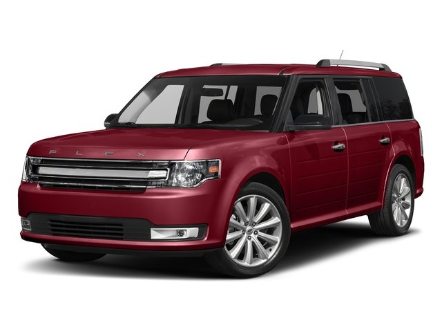 Ruby Red Metallic Tinted Clearcoat 2017 Ford Flex Pictures Flex Wagon 4D Limited AWD photos front view