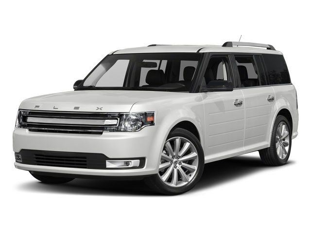 Oxford White 2017 Ford Flex Pictures Flex Wagon 4D Limited AWD photos front view