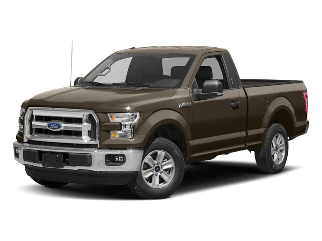 Caribou Metallic 2017 Ford F-150 Pictures F-150 Regular Cab XLT 4WD photos front view