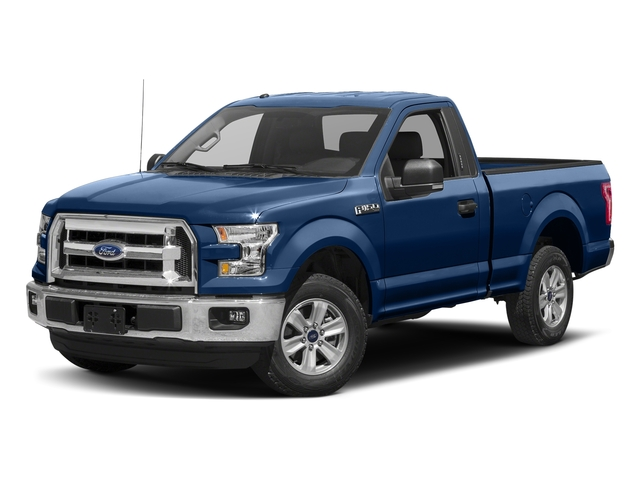 Lightning Blue 2017 Ford F-150 Pictures F-150 Regular Cab XLT 4WD photos front view