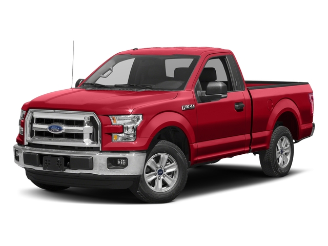 Race Red 2017 Ford F-150 Pictures F-150 Regular Cab XLT 4WD photos front view