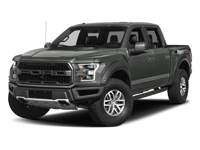 Magnetic Metallic 2017 Ford F-150 Pictures F-150 Crew Cab Raptor 4WD photos front view