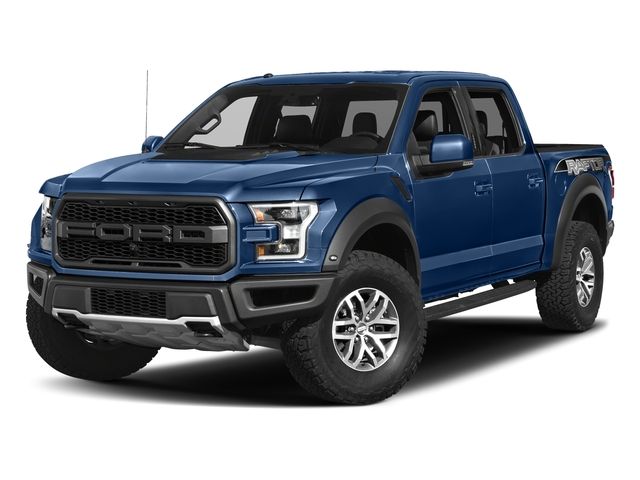 Lightning Blue 2017 Ford F-150 Pictures F-150 Crew Cab Raptor 4WD photos front view