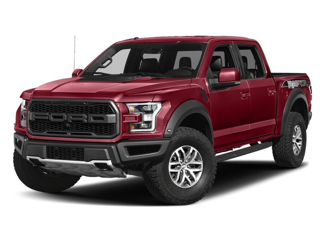 Ruby Red Metallic Tinted Clearcoat 2017 Ford F-150 Pictures F-150 Crew Cab Raptor 4WD photos front view