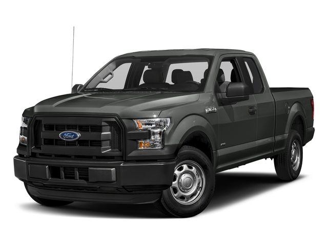 Magnetic Metallic 2017 Ford F-150 Pictures F-150 Supercab XL 4WD photos front view