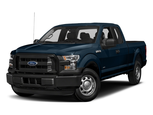 Blue Jeans Metallic 2017 Ford F-150 Pictures F-150 Supercab XL 4WD photos front view