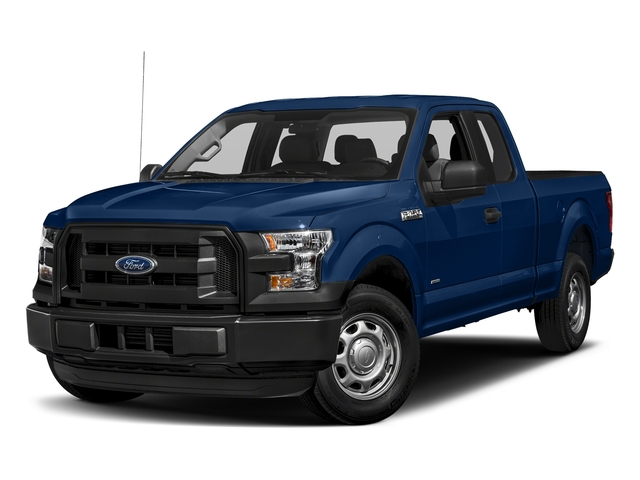 Lightning Blue 2017 Ford F-150 Pictures F-150 Supercab XL 4WD photos front view