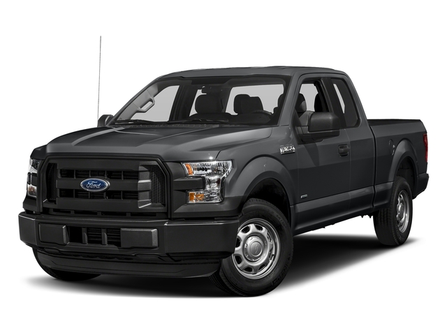 Lithium Gray 2017 Ford F-150 Pictures F-150 Supercab XL 4WD photos front view