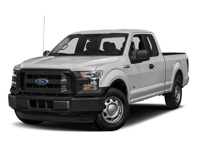 Ingot Silver Metallic 2017 Ford F-150 Pictures F-150 Supercab XL 4WD photos front view