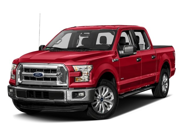 Race Red 2017 Ford F-150 Pictures F-150 Crew Cab XLT 2WD photos front view