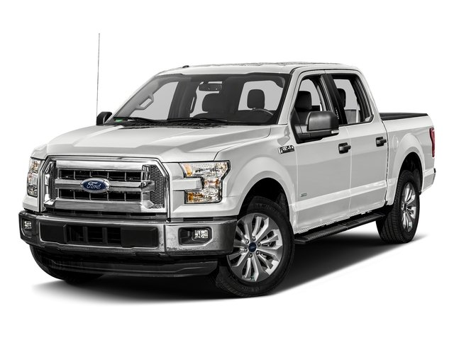 Oxford White 2017 Ford F-150 Pictures F-150 Crew Cab XLT 2WD photos front view