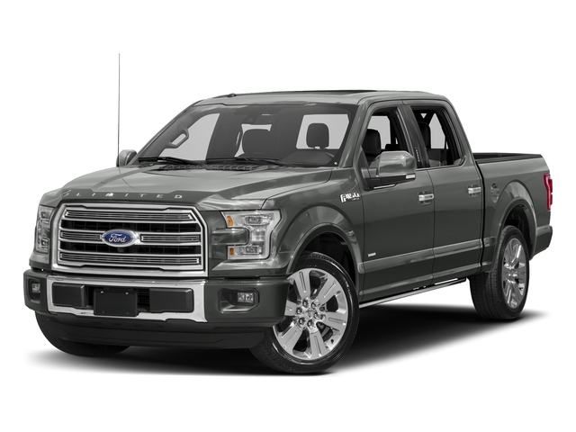 Magnetic Metallic 2017 Ford F-150 Pictures F-150 Crew Cab Limited EcoBoost 2WD photos front view