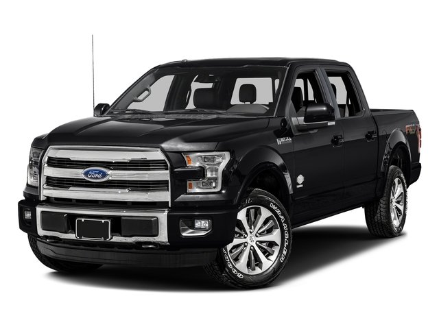 Shadow Black 2017 Ford F-150 Pictures F-150 Crew Cab King Ranch 4WD photos front view