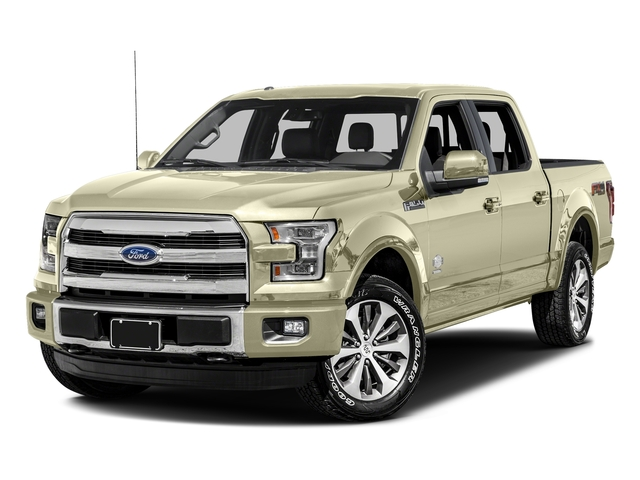 White Gold 2017 Ford F-150 Pictures F-150 Crew Cab King Ranch 4WD photos front view