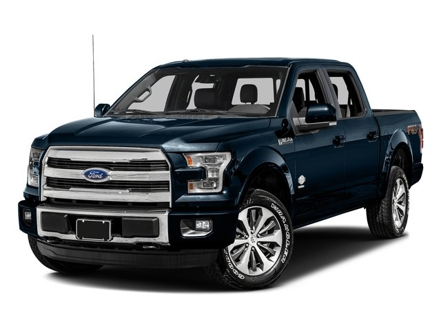 Blue Jeans Metallic 2017 Ford F-150 Pictures F-150 Crew Cab King Ranch 4WD photos front view