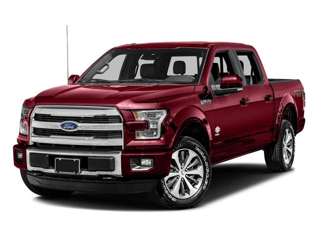 Ruby Red Metallic Tinted Clearcoat 2017 Ford F-150 Pictures F-150 Crew Cab King Ranch 4WD photos front view