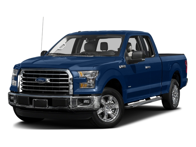 Lightning Blue 2017 Ford F-150 Pictures F-150 Supercab XLT 4WD photos front view