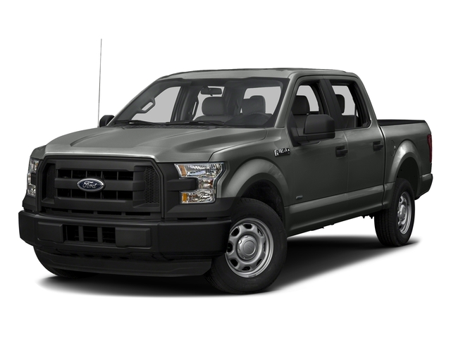 Magnetic Metallic 2017 Ford F-150 Pictures F-150 Crew Cab XL 2WD photos front view