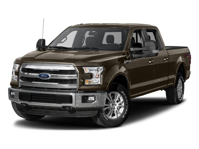 Caribou Metallic 2017 Ford F-150 Pictures F-150 Crew Cab Lariat 4WD photos front view