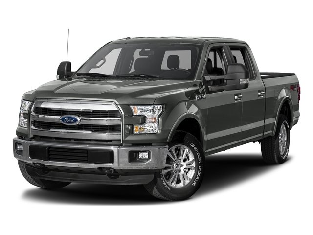 Magnetic Metallic 2017 Ford F-150 Pictures F-150 Crew Cab Lariat 4WD photos front view